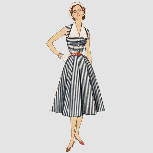Simplicity Sewing Pattern S9105 Misses' Vintage Dress
