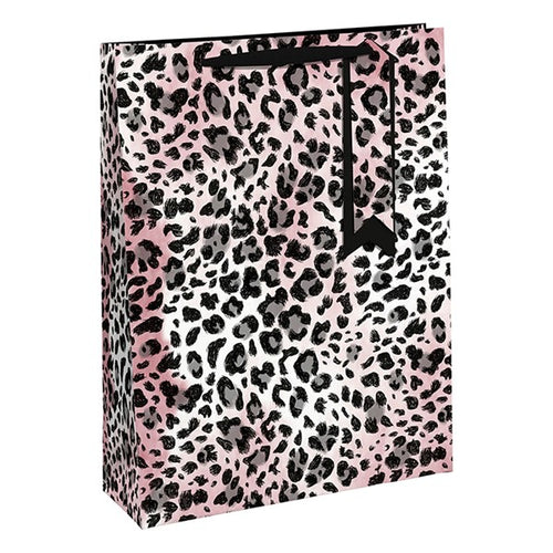 Pink Animal Print Medium Bag