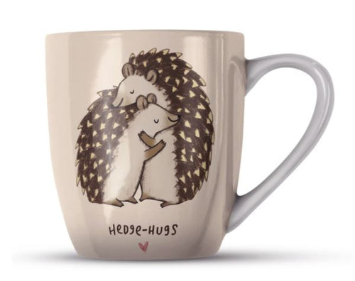 Hedgehugs Hedgehhogs Bone China Mug by Sophie Corrigan