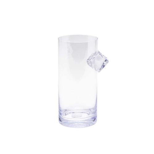 Ice & Slice Hiball Glass-Ice cube