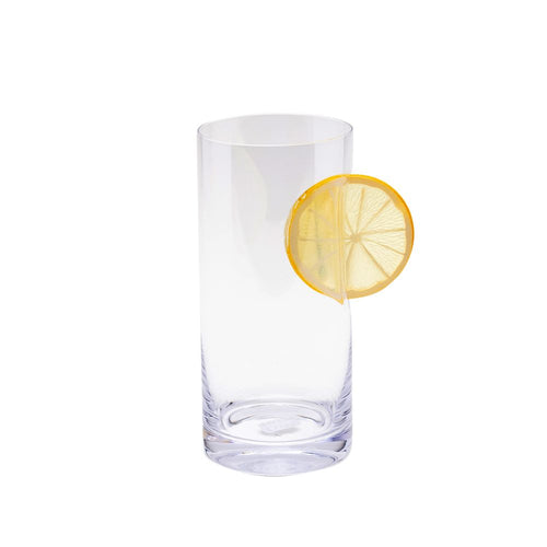 Ice & Slice Hiball Glass-Lemon