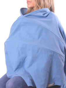 Infineni Nursing Cover in Tasi Blue