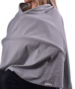 Infineni Nursing Cover in Latte Stone Grey