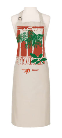 NEW: Organic cotton two figures apron