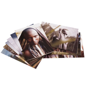 Omo tribe greeting cards