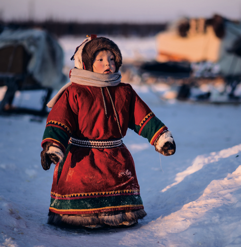 NEW: Nenets child in red cards