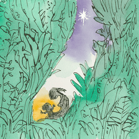 New Beginnings cards by Quentin Blake
