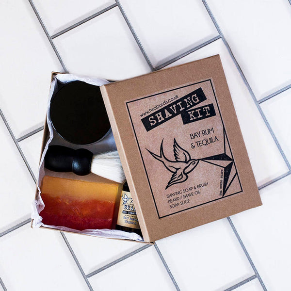 NEW: Bay rum & tequila grooming kit
