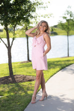 Load image into Gallery viewer, Tie Me Pink Dress