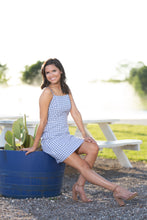 Load image into Gallery viewer, Gingham With Me Blue Dress