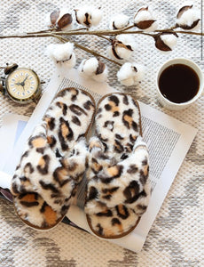 Lowen Leopard Slippers