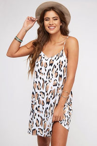Welcome to the Wild Side Leopard Dress