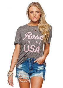 [Buddy Love] Rose In The USA Tshirt
