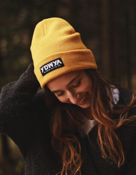 YDWYA Beanie (autumn orange) - You Decide Who You Are