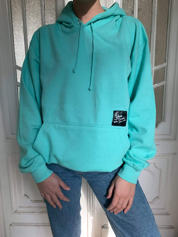 You Decide Who You Are classy hoodie (mint)