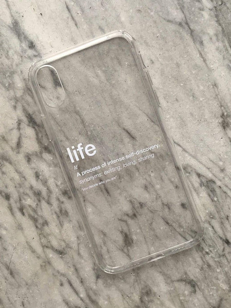 LIFE iPhone Case - YDWYA – You Decide Who You Are