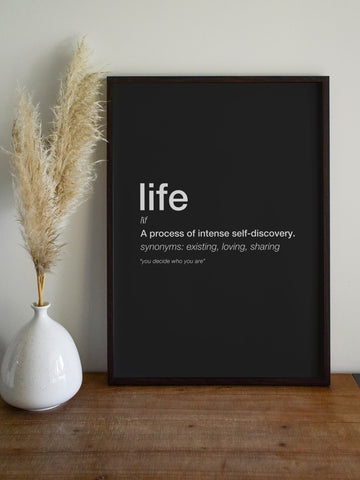 LIFE Poster - YDWYA – You Decide Who You Are
