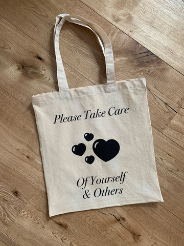Please Take Care Tote Bag - YDWYA
