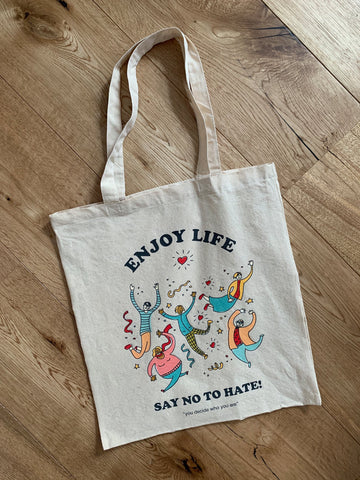 SAY NO TO HATE! Tote Bag - YDWYA