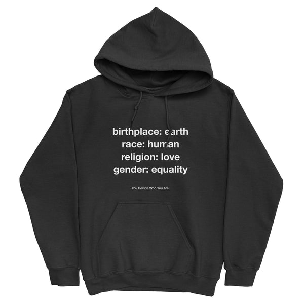 You Decide Who You Are Hoodie - YDWYA – You Decide Who You Are