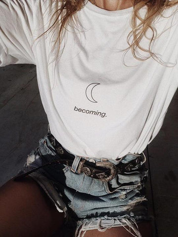 becoming. T-Shirt