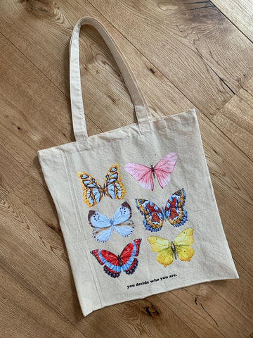 Butterflies Tote Bag - YDWYA