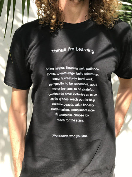 Things I'm Learning T-Shirt