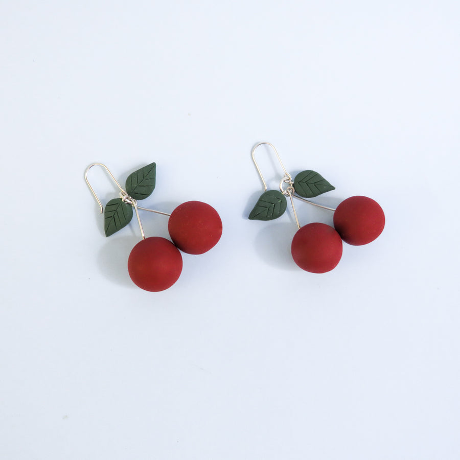 Cherry Fruit Earrings