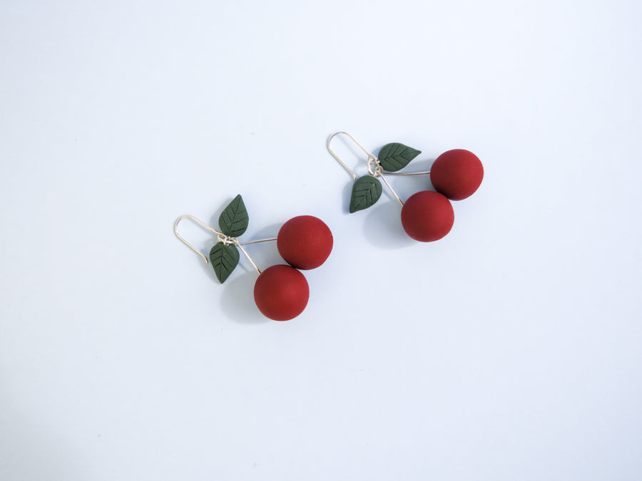 50's Rockabilly Fruit Earrings