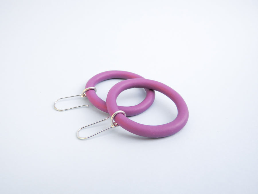 Plum Purple Lil Mama Hoop