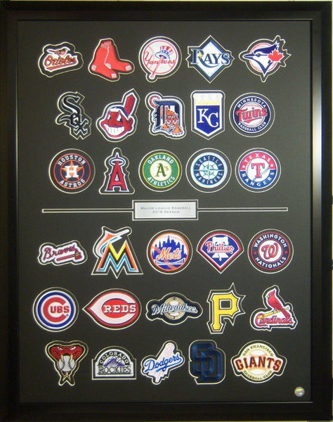The 2016 MLB Team Collection Framed Set