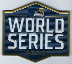 MLB 2020 World Series Patch
