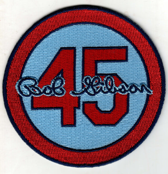 Bob Gibson 45 Memorial Patch (Blue)