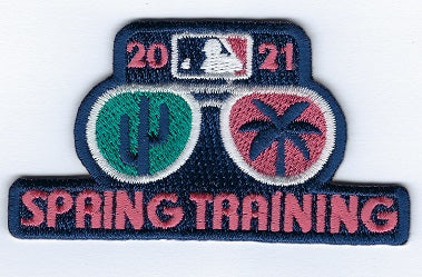 Spring Training 2021 Glasses Patch