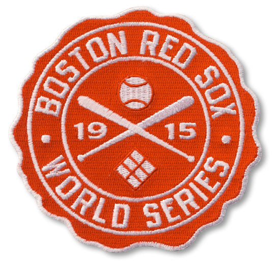 Boston Red Sox 1915 World Series Patch