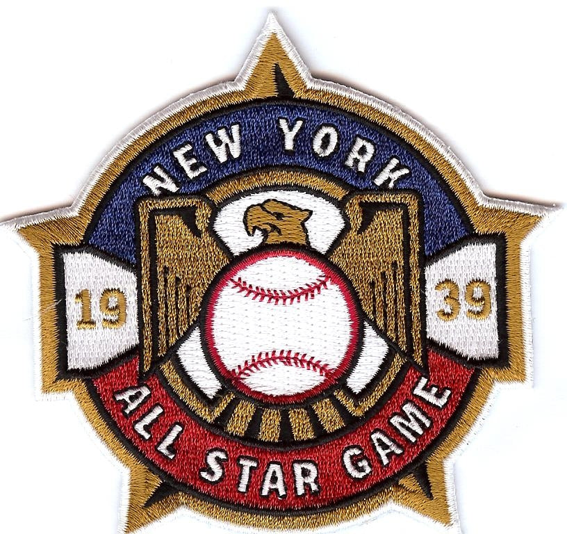 1939 All Star Game Patch