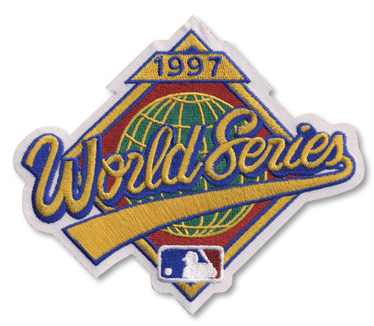 1997 World Series Patch
