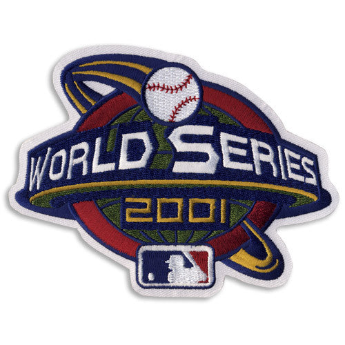 2001 World Series Patch