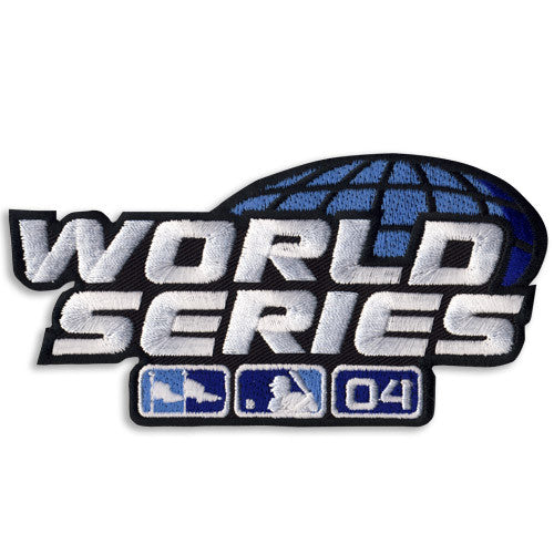2004 World Series Patch