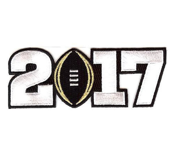 2017 College Football Playoff National Championship Patch Black (worn by Alabama)
