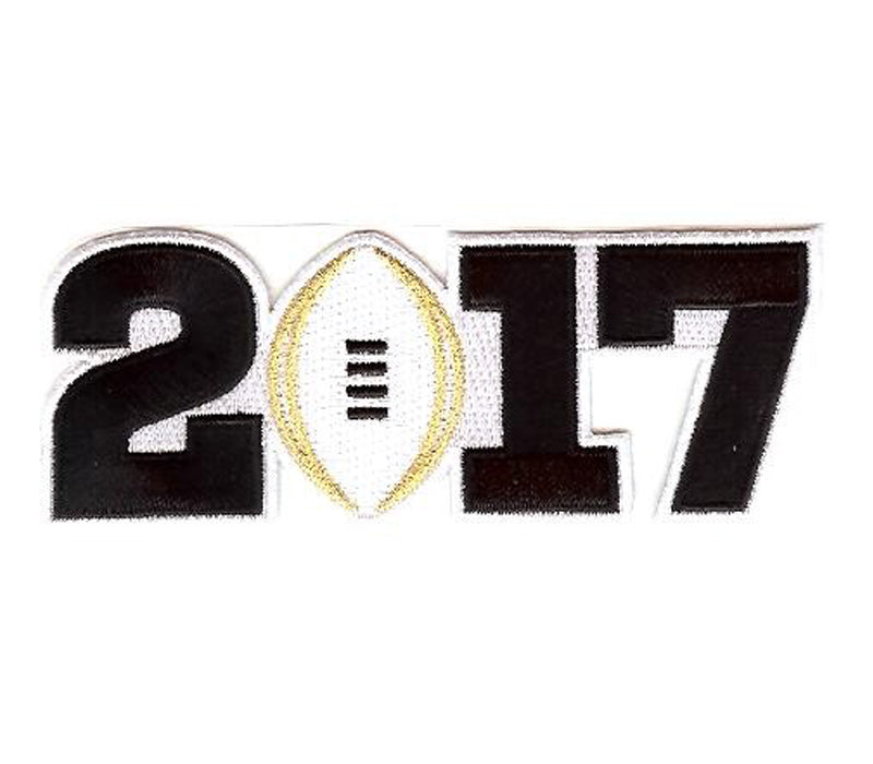 2017 College Football Playoff National Championship Patch White (worn by Clemson)