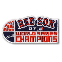 Boston Red Sox 2007 World Series Championship Patch