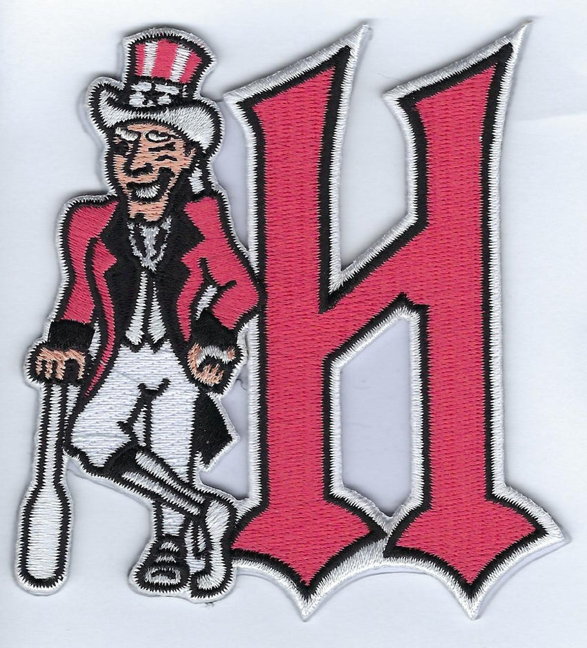 Harrisburg Senators Hat Logo with Uncle Sam