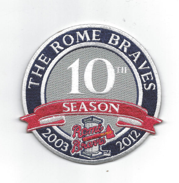 Rome Braves 10th Anniversary 2003-2012