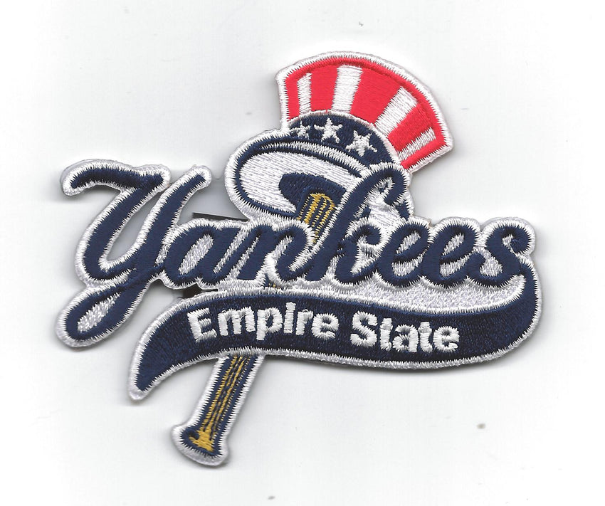 Empire State Yankees Primary Logo 2012