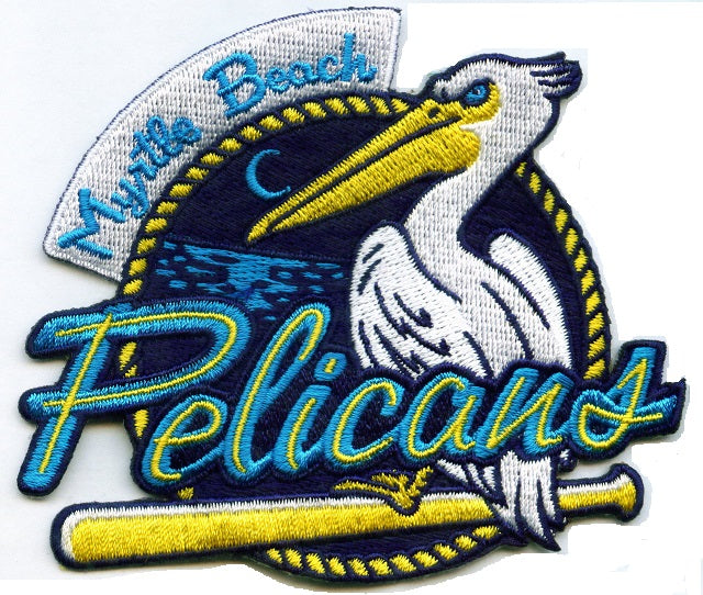 Myrtle Beach Pelicans Primary Patch