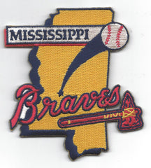 Mississippi Braves Primary Logo