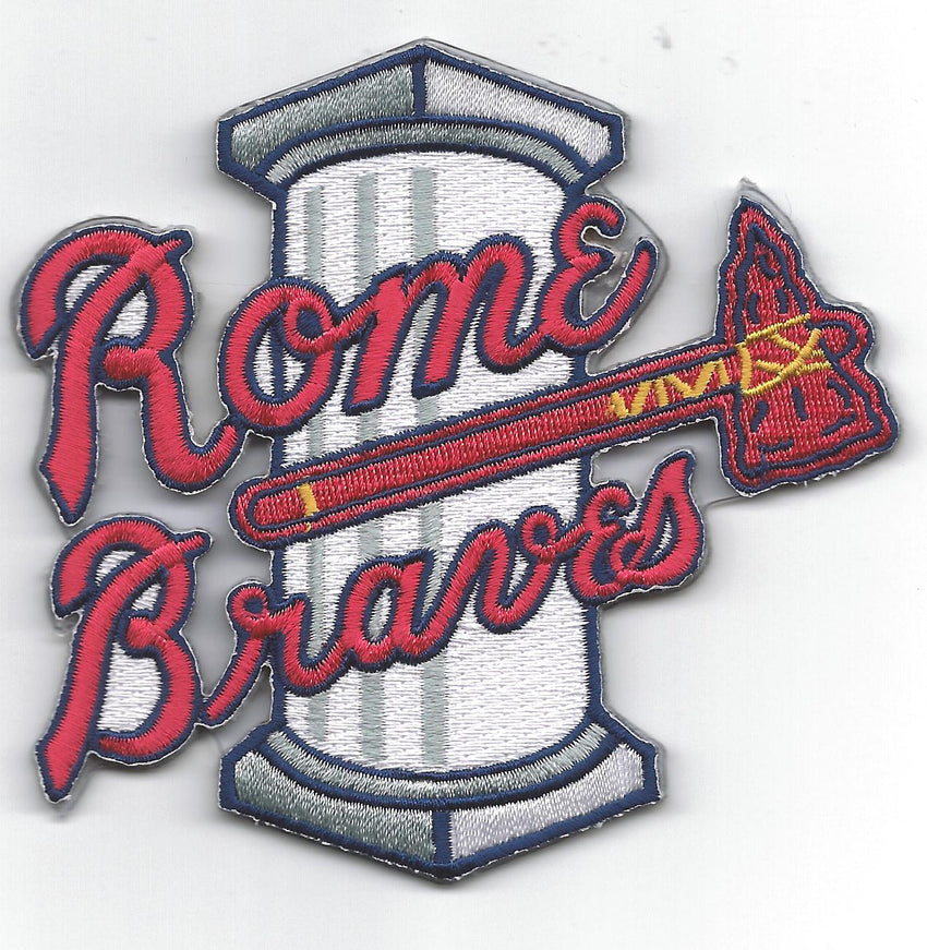 Rome Braves Primary Logo