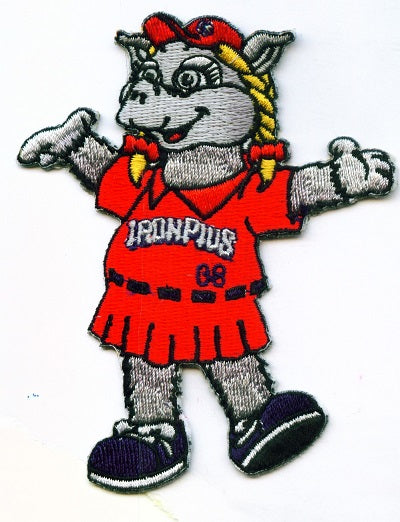 Lehigh Valley IronPigs Mascot Patch - FeFe