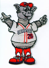 Lehigh Valley IronPigs Mascot Patch - Ferrous